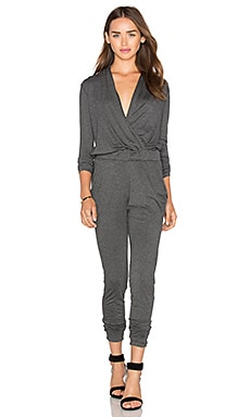 Ronnie Jumpsuit in Charcoal