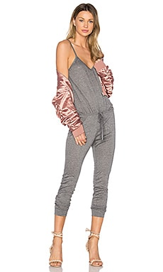Maxine Jumpsuit in Charcoal