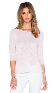 C&C California 3/4 Sleeve Sweater in Light Lilac