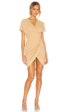 The Mini Wrap Dress Cali Dreaming $198