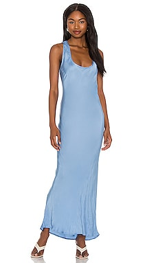 Simple Slip Dress Cali Dreaming $187 NEW