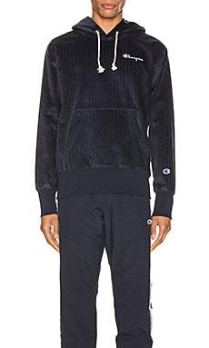 Corduroy Hooded Sweatshirt Champion Reverse Weave $69