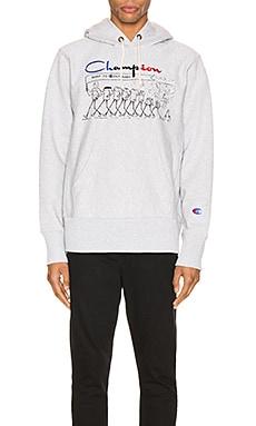 Centenary Hooded Sweatshirt Champion Reverse Weave $87