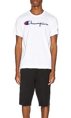 CAMISETA BIG SCRIPT Champion Reverse Weave $33