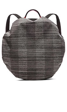 Cote & Ciel Moselle Backpack in Concrete Herringbone