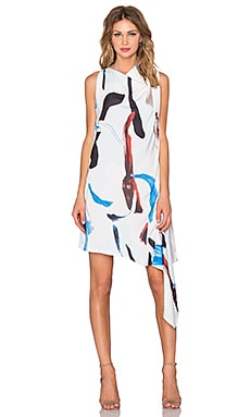 Carling Dress in Pigment Print