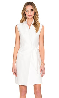 Montego Vest Dress en Blanco Marfil
