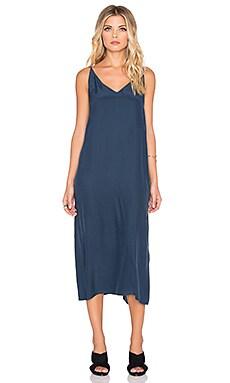 Acler Keller Silk Maxi Dress in Seaport