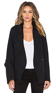 Acler Aldridge Wrap Jacket in Black