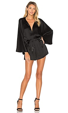 Knox Romper in Black