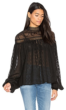 Barton Blouse in Black