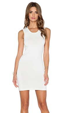 Central Park West Stockholm Knit Dress in White