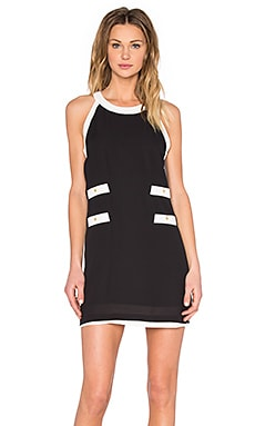 Central Park West Nantucket Dress in Black