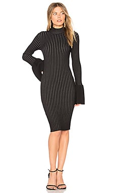 Coconut Grove Bell Sleeve Dress