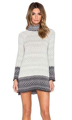 Oslo Turtleneck Sweater in Grey