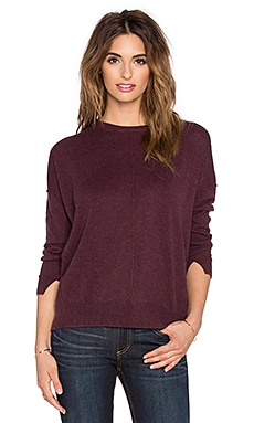 Central Park West Whistler 2 Sweater in Burgundy