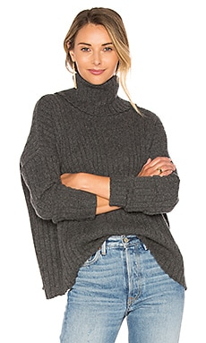 Salzburg Turtleneck Sweater en Charcoal