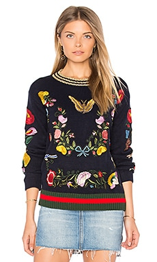 Abbot Kinney Butterfly Sweater