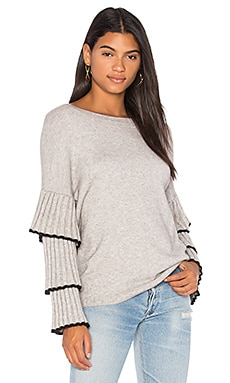 Bourbon Street Ruffle Sleeve Sweater