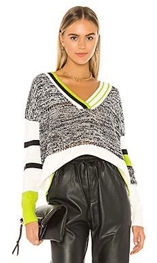Berlin V Neck Sweater Central Park West $141