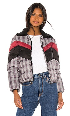 Wesley Printed Puffer Central Park West $37 (FINAL SALE)