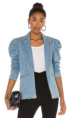 Balsam Denim Blazer Central Park West $260