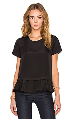 Banff Layered Top in Black
