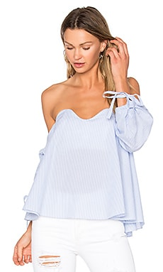 Vero Cold Shoulder Blouse