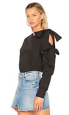 Beacon Street Bow Blouse