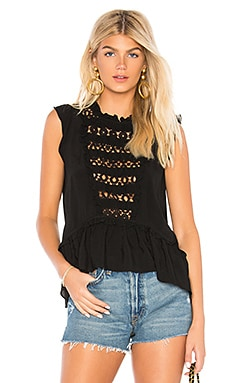 Pink Sands Eyelet Top Central Park West $91