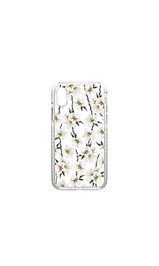 White Floral iPhone X Case Casetify $45