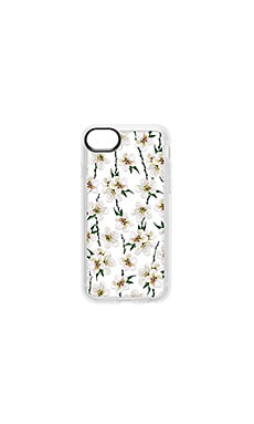 White Floral iPhone 6/7/8 Case Casetify $36