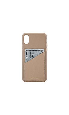 Leather Card iPhone X Case Casetify $59