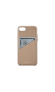 Leather Card iPhone 6/7/8 Case Casetify $59
