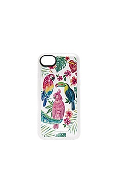 Tropical Birds iPhone 7 Case in Clear