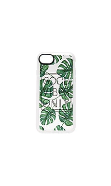 GVO Tropical Leaves iPhone 7 Case in Clear