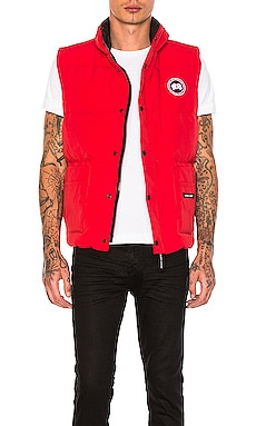 Freestyle Poly-Blend Vest Canada Goose $450