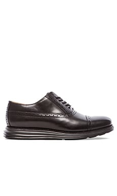 Cole Haan Lunargrand Cap Toe in Black