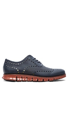 Cole Haan Zerogrand Ox No Stch in Blazer Blue