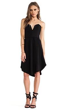 CHALK Hook Dress in Black