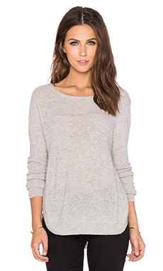 CHARLI Cambridge Sweater in Silver Melange
