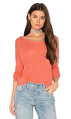 Chloe Sweater in Coral