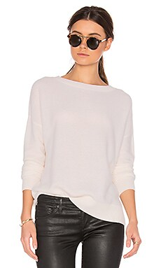 Cheshire Cashmere Sweater in Ivory