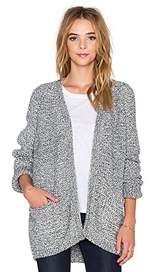 CHARLI Balsam Cardigan in Charcoal