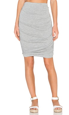 CHARLI Tallulah Skirt in Melange Grey