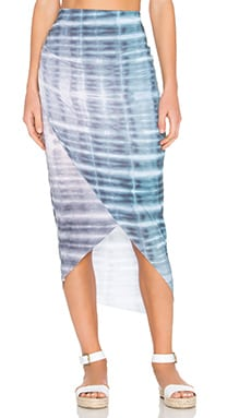 Petra Skirt in Shibori Print