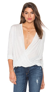 CHARLI Adaline Top in Cloud