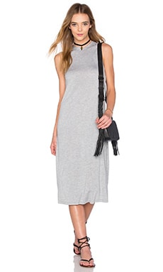 Jo Dress en Gris Chiné