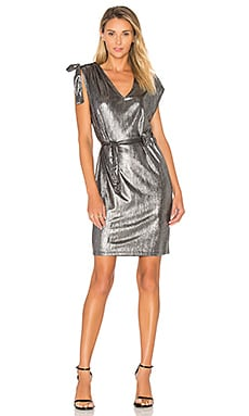 Lurex Dress in Silver