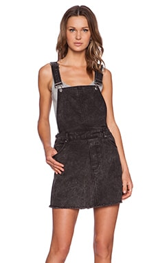 Cheap Monday Embrace Overall Dress in Mad Black